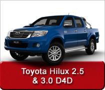 Toyota Hilux 2.5 & 3.0 D4D