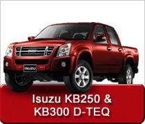 Isuzu KB250 KB300 Conversions