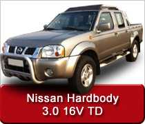 Nissan Hardbody 3.0 16v TD Turbo Diesel Intercooler Conversions