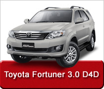 Toyota Fortuner 3.0 D4D Turbo Diesel Intercooler Conversions