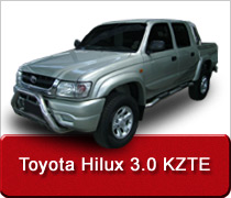 Toyota Hilux 3.0 KZTE Intercooler Conversion