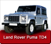 Land Rover Puma TD4 Turbo Diesel Intercooler Conversions