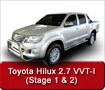 Toyota Hilux 2.7 VVT-I Conversion