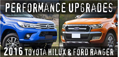 2016 Upgrades - Ranger & Hilux