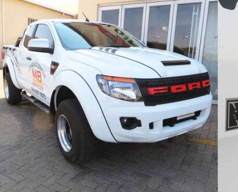 Rugged SAC Ford Ranger gets a Power Boost