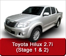 Toyota Hilux 2.7 Conversion