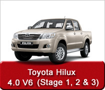 Toyota Hilux 4.0 V6 Conversion