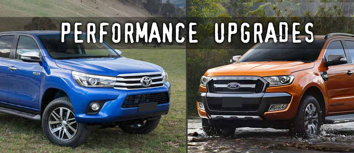 Performance Upgrades 2016 Toyota Hilux & Ford Ranger