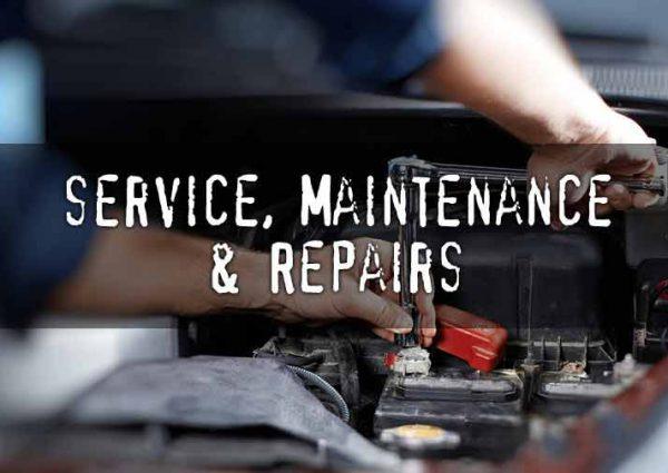 Service, Maintenance & Repairs