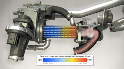 Burning fumes - Removal of the Exhaust Gas Recirculation (EGR