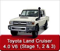Toyota Land Cruiser 4.0 V6 Conversions