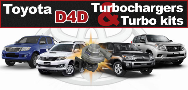 Toyota d4d Turbocharger Replacement