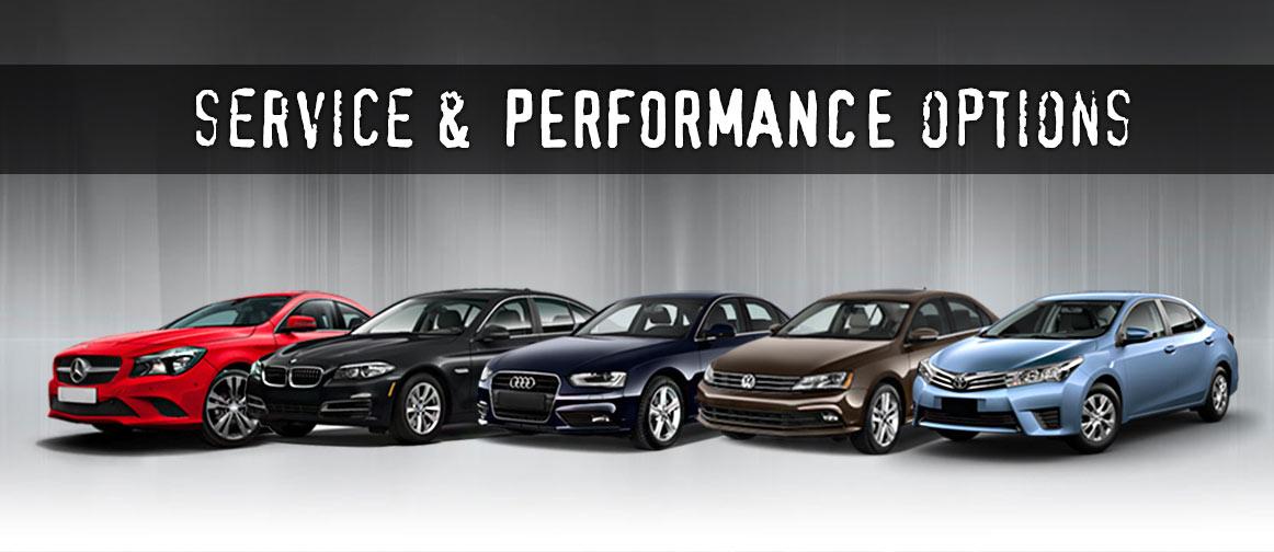 Service & Performance Options