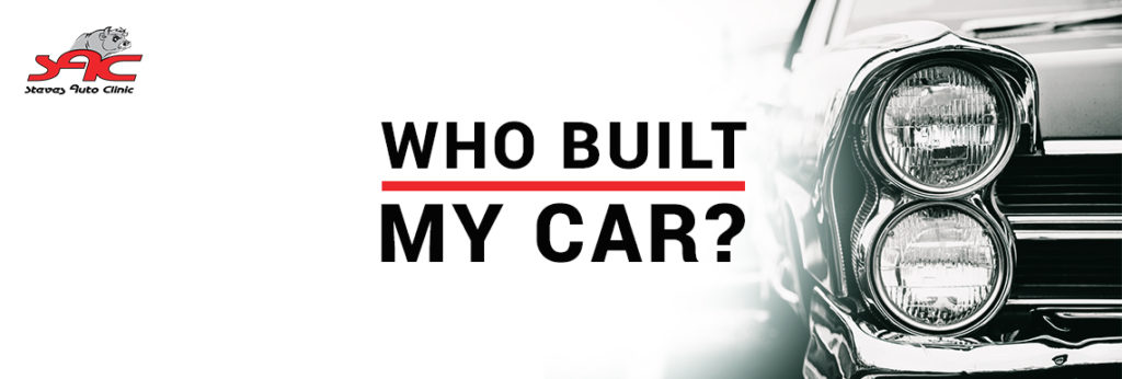 Who Built My Car