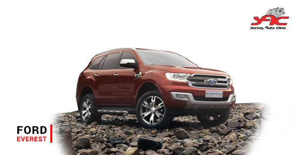 A few potential faults on the Ford Everest 2 2, 2 5, 3 0 or